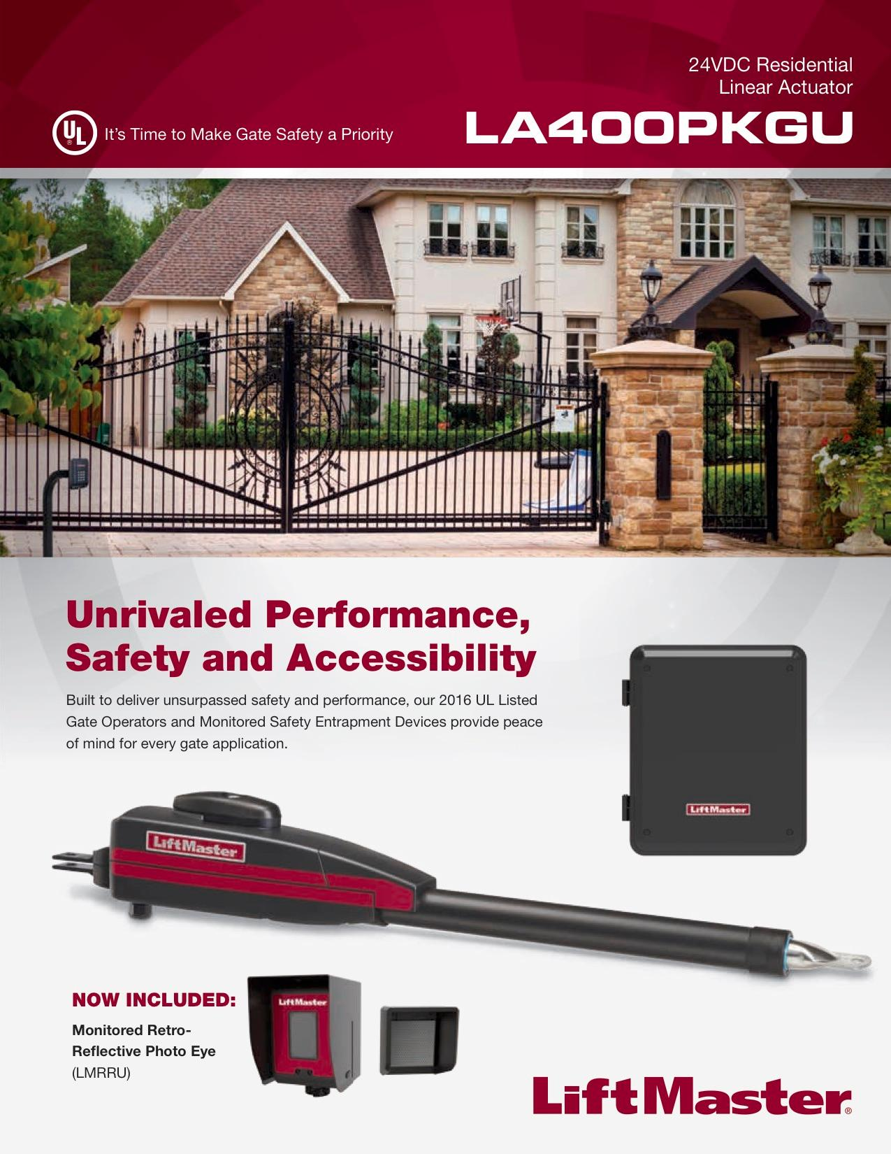 Liftmaster brochure